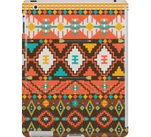 Aztec geometric seamless  colorful pattern iPad Case/Skin