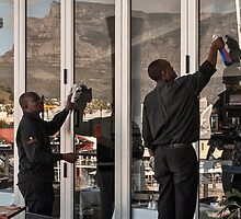 For a clear view of Table Mountain by awefaul