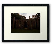 Old Sheldon Church 8 Framed Print