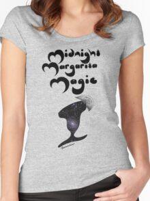 Midnight Margarita Magic Women's Fitted Scoop T-Shirt