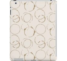 Coffee Stains iPad Case/Skin