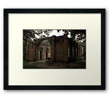Old Sheldon Church 22 Framed Print