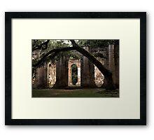 Old Sheldon Church 24 Framed Print