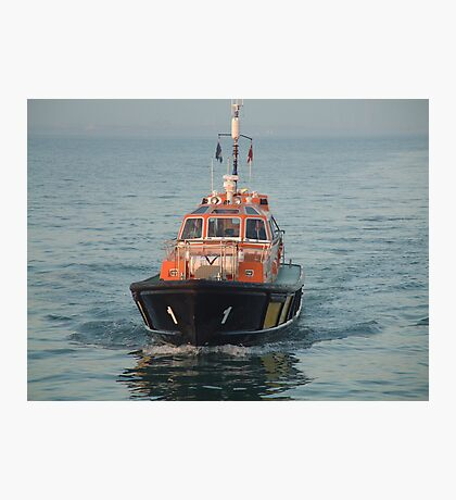 Rescue Boat Photographic Print