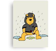 Even Winnie. Canvas Print