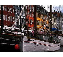 Nyhavn Copenhagen photo Colette Guggenheim Photographic Print