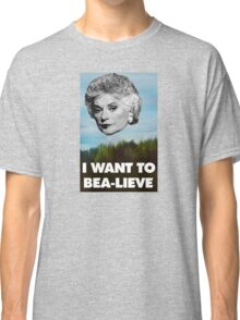 I Want to Bea-lieve Classic T-Shirt