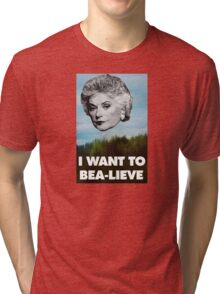 I Want to Bea-lieve Tri-blend T-Shirt