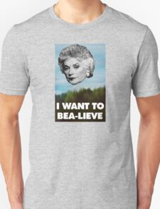 I Want to Bea-lieve T-Shirt
