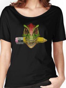Dino Art Crunch Women's Relaxed Fit T-Shirt