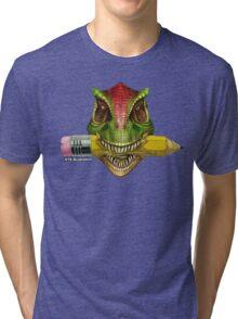 Dino Art Crunch Tri-blend T-Shirt