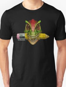 Dino Art Crunch Unisex T-Shirt
