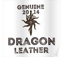 Orlais Leather - Dragon Poster