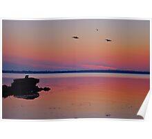 Aussie Sunrise..26-9-2010. Poster