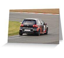 Howard Fuller Volkswagen Golf Greeting Card