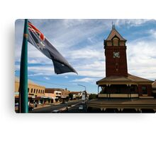 from the royal exchange hotel, broken hill Canvas Print