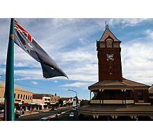 from the royal exchange hotel, broken hill Photographic Print