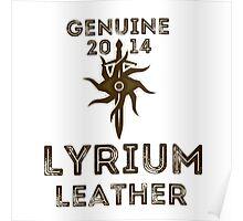 Orlais Leather - Lyrium Poster