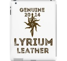 Orlais Leather - Lyrium iPad Case/Skin