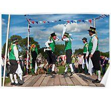Morris Men ~ Colyford Goose Fayre 2010 Poster