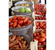 Puglia tomatoes Photographic Print