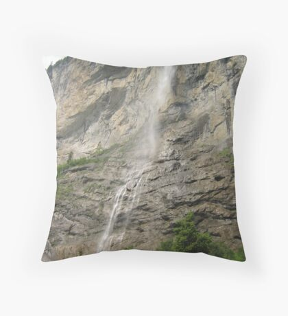 The Highest, Lauterbrunnen, CH Throw Pillow