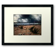 Wild Wind over Water Framed Print