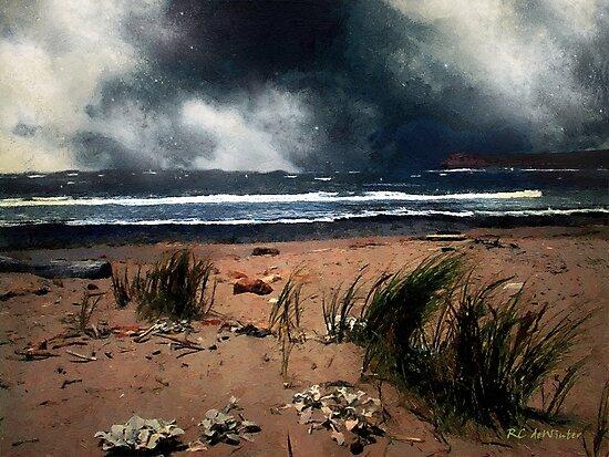 Wild Wind over Water by RC deWinter