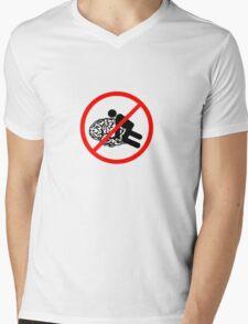 Don't fuck my brain! Mens V-Neck T-Shirt