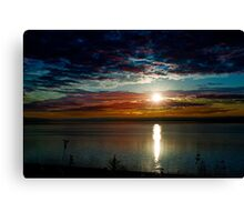 Waking up at Digby - Nova Scotia Canvas Print