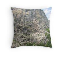 High Rise, Lauterbrunnen, CH Throw Pillow