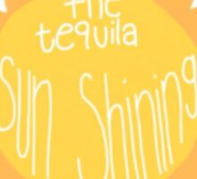 Jacob Whitesides Tequila Sun Sticker