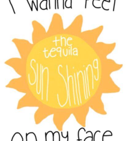 Jacob Whitesides Tequila Sun Sticker