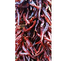 Chillie peppers Photographic Print