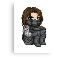 Bucky Barnes / Winter Soldier Chibi Canvas Print