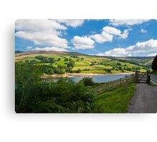 Derwent Waters down the road  Canvas Print