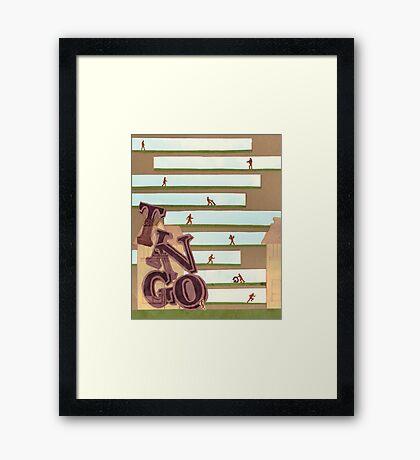 Define: TINGO Framed Print