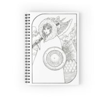 Wheel of Fortune - Tarot Card Spiral Notebook