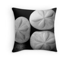 three sea biscuits Throw Pillow