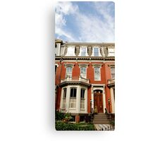 Historic Home Canvas Print