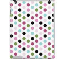 Modern Chic Large Polka Dots iPad Case/Skin