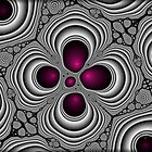 Purple and fuschia by Roz Rayner-Rix