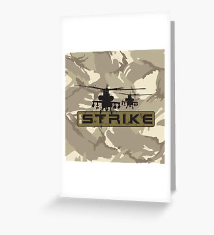 Air Strike Greeting Card