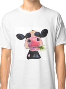 NOSEY COW 'HURLEY BURLEY' Classic T-Shirt