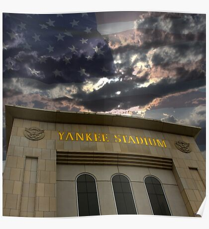 Yankee Stadium, NY Poster