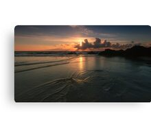 Perranporth Beach,North Coast of Cornwall Canvas Print