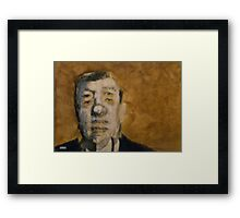 ALAN JOHNSON Framed Print