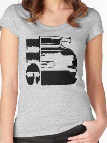 911 porsche gt3 Women's Fitted Scoop T-Shirt