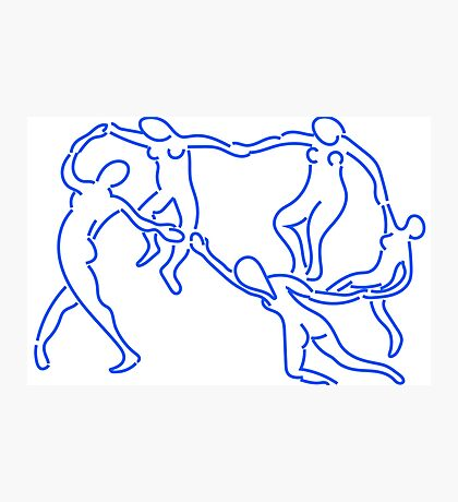 henri matisse, the dance Photographic Print