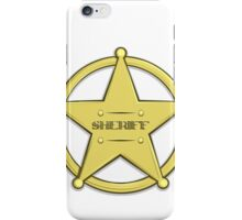Sheriff's Badge iPhone Case/Skin